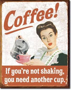 Coffee Retro Tin Sign on retro lighting kitchen, retro decor kitchen, retro furniture kitchen, retro coca cola kitchen, retro vintage kitchen,