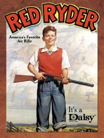 Daisy Red Ryder Tin Sign