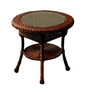 Lexington Synthetic All Weather Wicker End Table