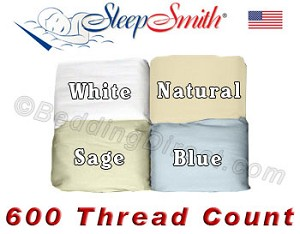 Fabulous 600 Thread Count Wrinkle Resistant Cotton Sheet Set