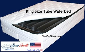 King Size Tube Softside Water bed Set
