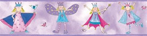 Fairy Princess Peel and Stick Border