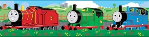 Thomas the Tank Engine and Friends™ Peel and Stick Border