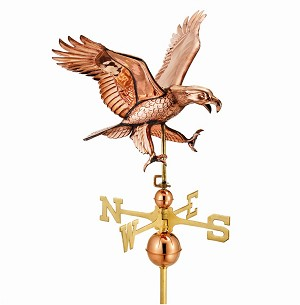Attacking Eagle Weathervane
