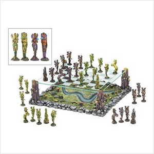 Fairy World Landscape Chess Set